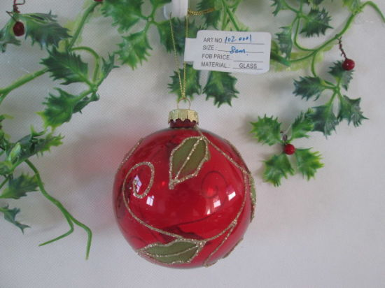 2021 Hot Sales Christmas Glass Baubles