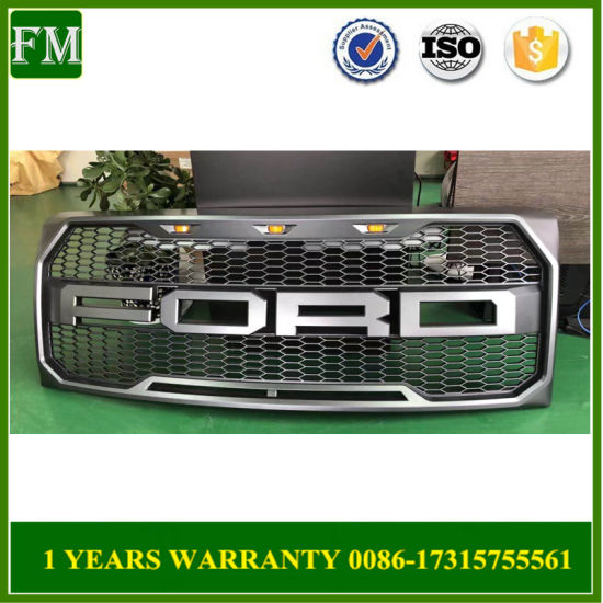2009-2014 for Ford F150 Front Grill Replacement Raptor Style Conversion
