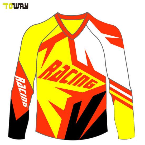 China Custom Sublimated Motocross Jersey Blank Fabric - China ... b44c299d4