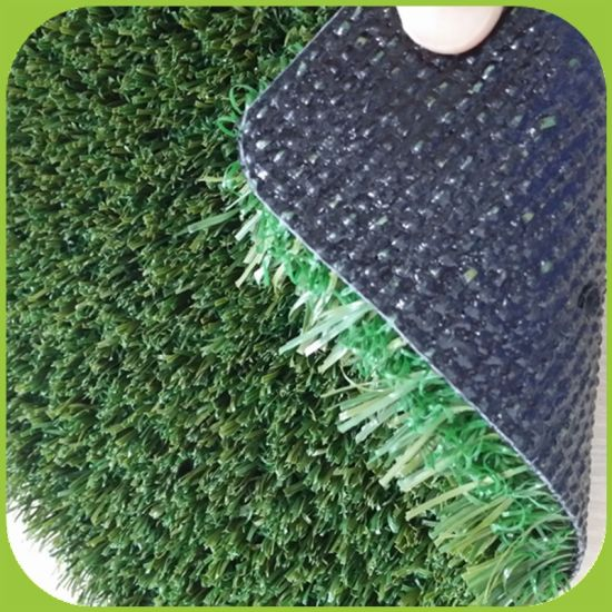 Non-Infilled Artificial Football Grass Without Filling Granules SGS pictures & photos