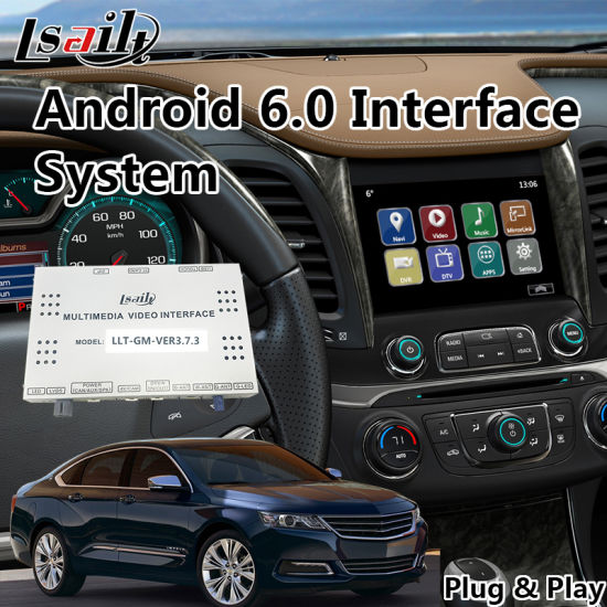 China Car Video Interface for Chevrolet Impala / Suburban Mylink