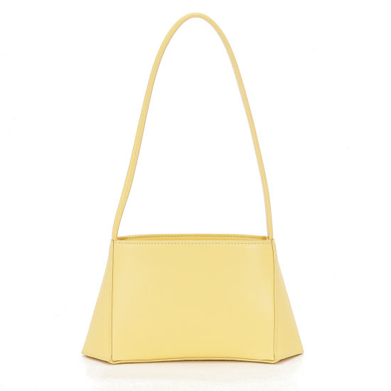 2020 New Fashion Genuine Leather Underarm Ladies Baguette Handbags