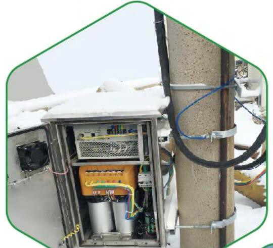 Outdoor Capacitor Compensation with Svg to Compensate Reactive Power