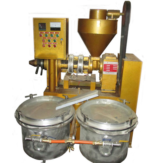 Small Automatic Oil Press Machine with Oil Filter for Making Soybean, Peanut, Sunflower Seeds, Castor Seeds and Sesame Oil, etc pictures & photos