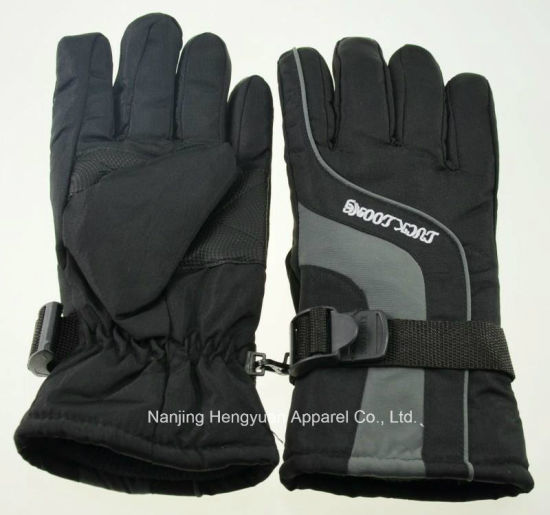 High Quality Adult Ski Glove Winter Glove Winter Fleece (HY17082502) pictures & photos