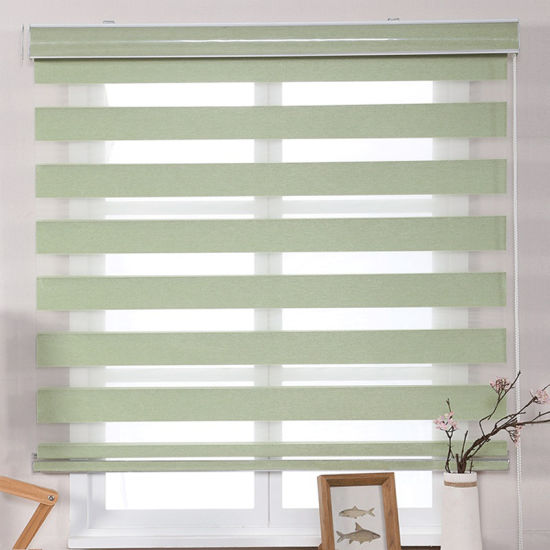 Sikadan Custom Coloured Roller Vertical Fabric Blinds Window and Door pictures & photos
