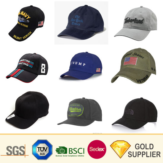 Cheap Wholesale OEM Custom Logo 100% Cotton Sport Embroidery Baseball Cap Customized Summer Fashion Printing Camo Flexfit Straw Mesh Plain Snapback Sun Golf Hat