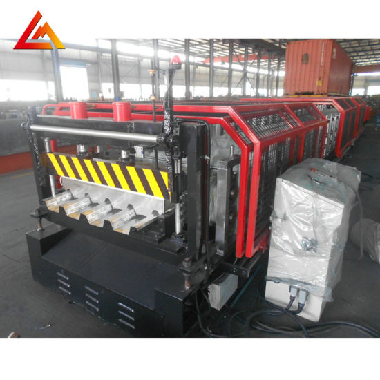 Yx60-216.2-865 Pass Ce Steel Roll Forming Machine for Floor Decking Profile