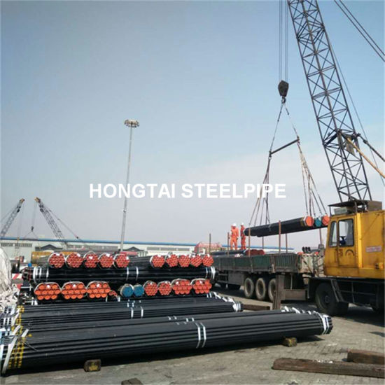Manufacturer of Hot Rolling ASME A106 Gr. B Seamless Steel Pipe pictures & photos