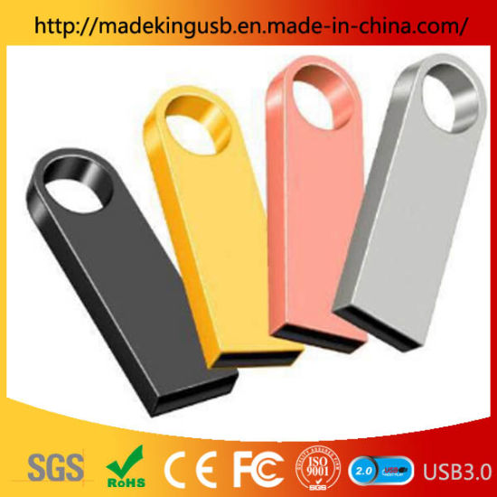 Classic Waterproof Metal USB Stick /USB Key Factory Free Laser Engraving Logo