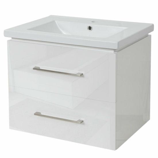 Bathroom Vanity Cabinet 600mm Wall Hung