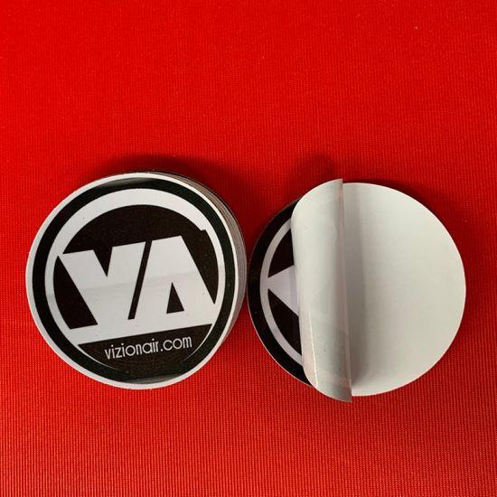 Die Cut Static PVC Vinyl Car Sticker