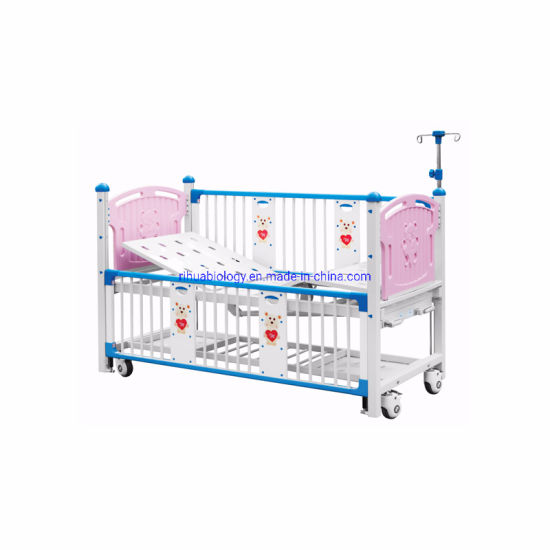 Children's Hospital Bed with Barrier Baby Crib for Hospital