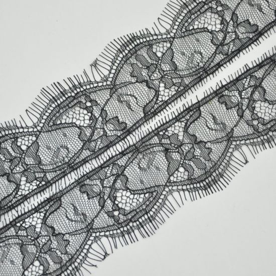 5.5 Cm Width Solf Eyelashes Lace Trimming