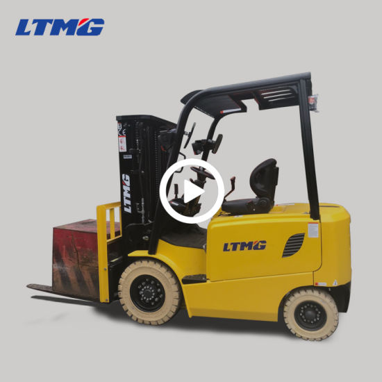 Ltmg Mini 2.5 Ton Electric Forklift with Dual Front Tires and 6m Lifting Height