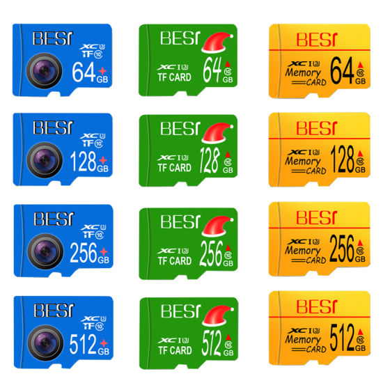 Wholesale Flash Memory Card Microsd 16GB 32GB 64GB 128GB Mini TF Card Micro Sdcard Class 10 8GB 16GB 32GB Card for Smartphone