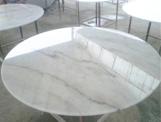China Carrara White Marble Stone Countertops for Hotel/Kitchen/Bathroom