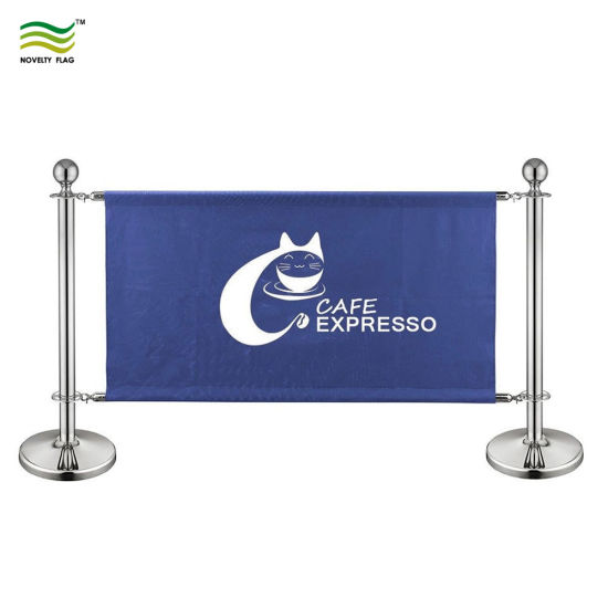 Custom Logo Printing Cafe Barriers, Banner, Windbreak Barrier (M-NF22M01107) pictures & photos