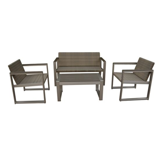 New Design Hot Selling Garden Leisure Sofa Set Using Hotel or Home Dining Room Patio Modern Outdoor Furniture