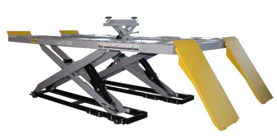 Monted Over Ground Wheel Alignment Ultra Thin Scissor Lifting Machine
