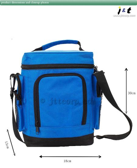 """Lunch Bag With Cooler Water Cooler Insulated Pocket 10/"""" Great for Picnic Beer"""