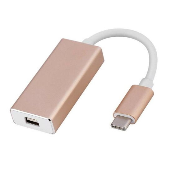 USB 3.1 Type C Cable USB-C to Mini Displayport Dp Male 4kx2k Monitor Cable