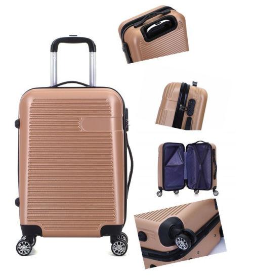 Hardshell ABS Luggage, Travel Trolley Suitcase (XHA083)