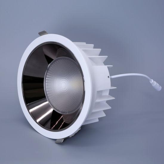 Aluminum 40W Recessed LED Ceiling Down Light