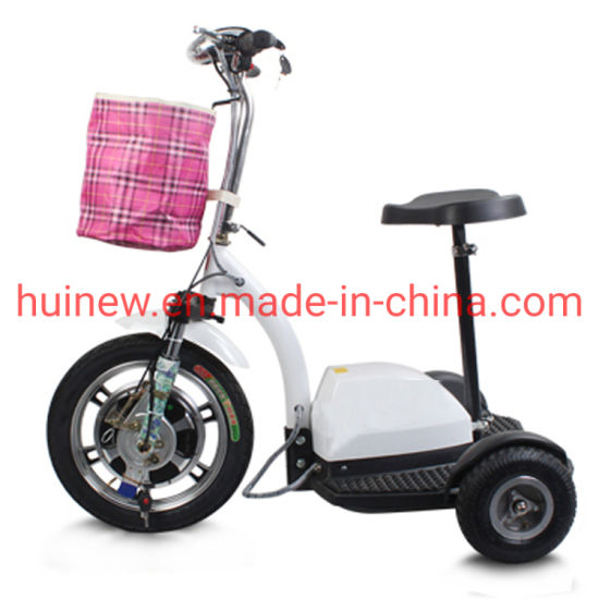 Handicapped Electric Scooter LCD Display Mobility Scooters with Ce