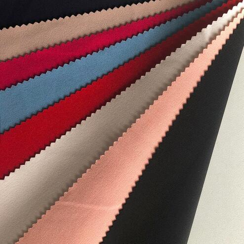 Hot Selling Double 4 Way Polyester Spandex Stretch Dyed Fabric for Apparel pictures & photos