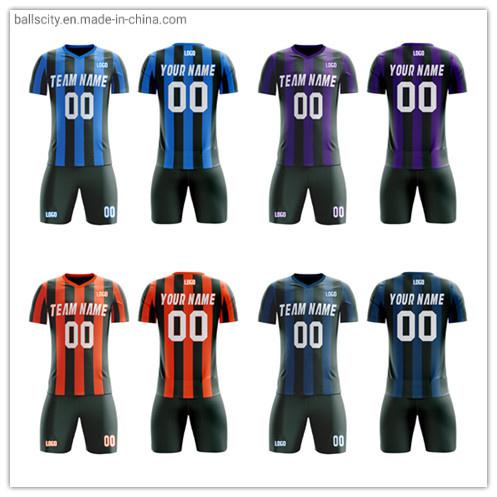 Breathable Clothes Sublimation Printed Football Shirt Custom Soccer Wear