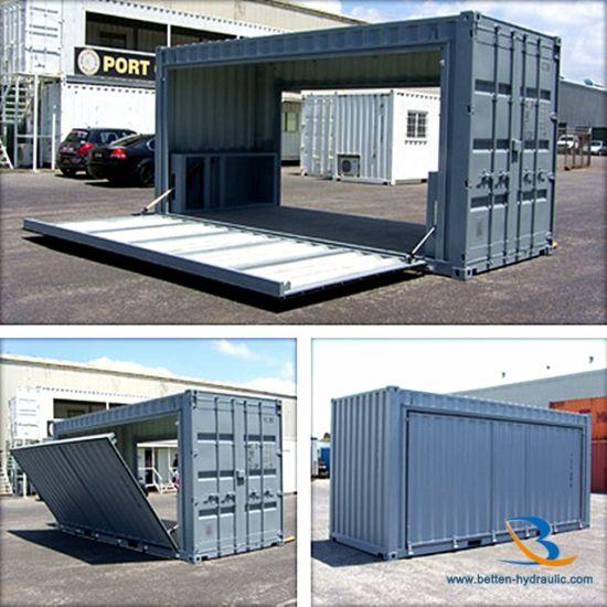 China Hydraulic Cylinder For Automatic Garage Door China Swing Out Hydraulic Garage Doors Hydraulic Cylinder For Garage Door