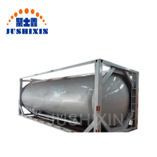 ISO Bulk Coal/Cement/Plaster/ZnO/Znic Powder Carbon Steel Storage Tank Container pictures & photos