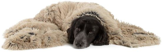 Cozy Luxurious Dog Bed Self-Warming Pet Mattress