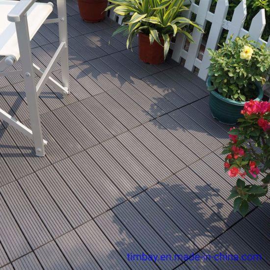 Wear-Resistant Anti-Corrosion WPC DIY Floor Wood Plastic Buckle Floor