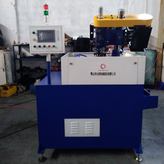 Tcst-Zm004 CNC PLC Control Panel Thread Rolling Machine Threading Automatic Tapping Machine for Industrial Production