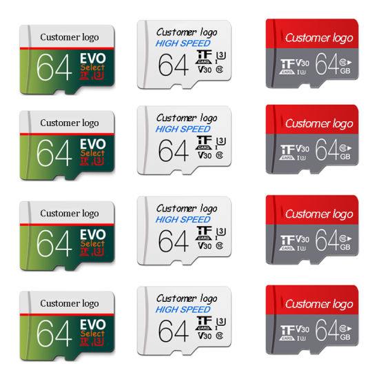 Wholesale Mini Memory Card Micro SD Card Class 10 16GB 32GB 64GB 128GB C10 C6 TF Card SD Card for Smartphone