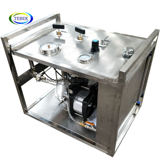 Terek High Quality Long Running Time Pressure Test Bench with Round Chart Recorder