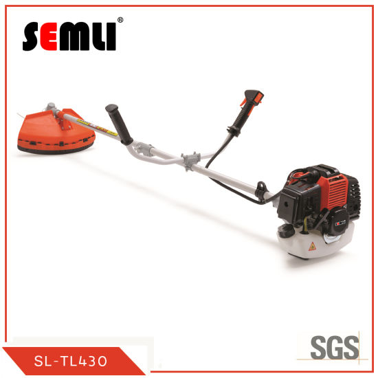 Classic Chinese Professional 43cc Brush Cutter Grass Trimmer for Gardening