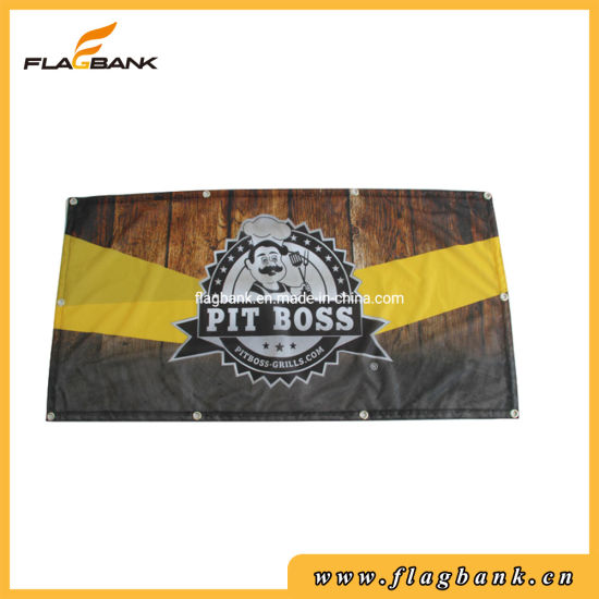 Advertising Custom Full Color Printing Polyester Fabric Outdoor Banner