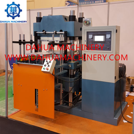 New Design High Efficient Single Station Rubber Plate Vulcanizing Machine