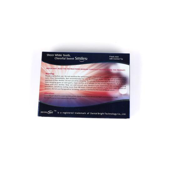 China Blue Light Mouth Tray Syringe Gel Teeth Whitening Kit