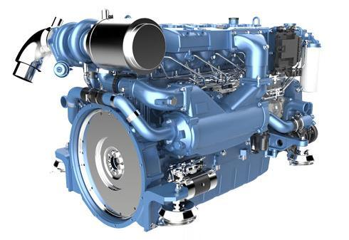 Weichai Wp10 Marine Propulsion Diesel Engine Series (257-290kW) pictures & photos