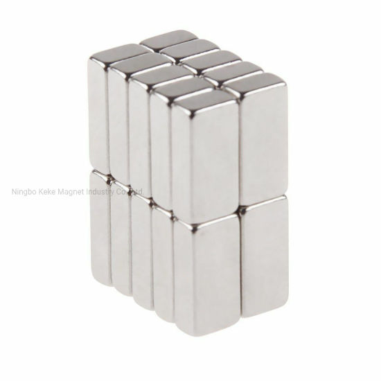 1x N48 Magnet 50 x 6 x 5 mm Neodymium Block Strong Magnetic Field
