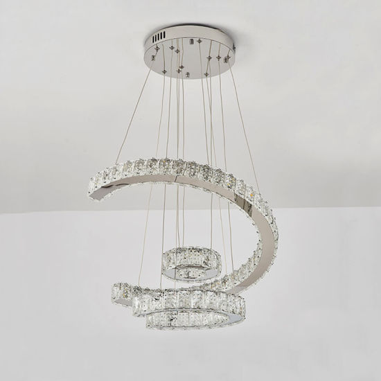 Modern European Luxury Crystal Chandelier Lighting for Bedroom