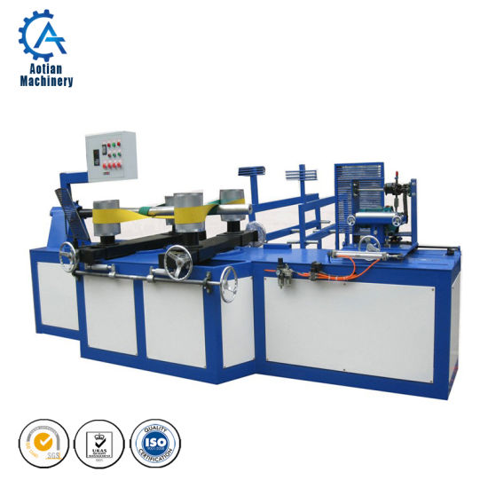 Transformer Lamination Wood Pulp Machinery Cardboard Core Cutting Machine