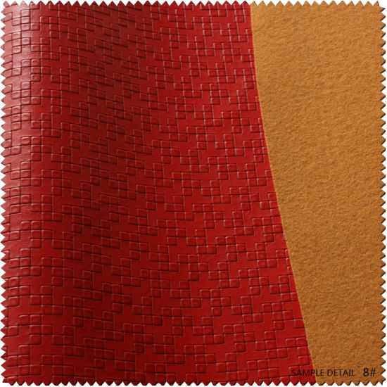 Embossed Concise Fashion Design Leather for Women Shoes or Bags (S308090GG) pictures & photos