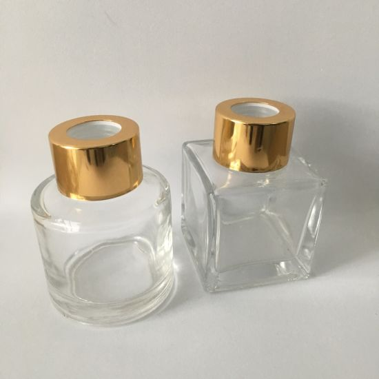 50ml Round Reed Diffuse Glass Bottle Square Diffuser Bottle