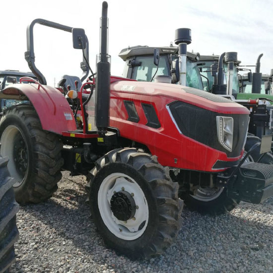 90HP 100HP 110HP 120HP 4WD Mini Farm Tractor with Ce Certificate