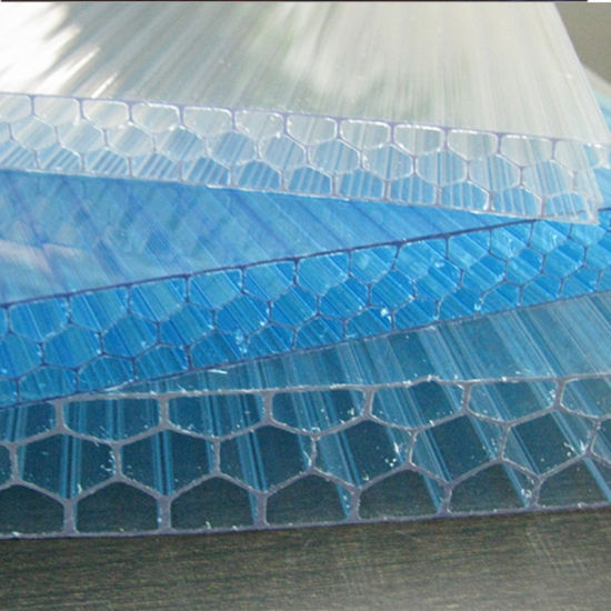 100%Makrolon Bayer Soundproof Honeycomb Polycarbonate Sheets pictures & photos